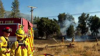 Green Fire Near Cuyamaca 60 Percent Contained