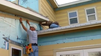 Volunteers Build Homes for Service Members in Lakeside