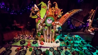 Disneyland Halloween Opens: Gingerbread Reveal