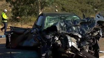 Head-On Collision in Escondido Kills 1