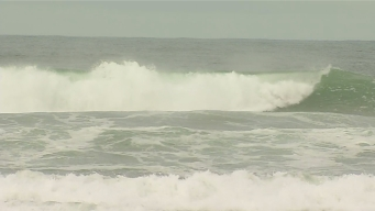High Surf Pounds San Diego's Beaches