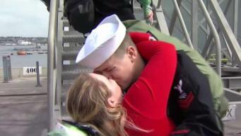 Homecoming Hugs: Welcome Back, USS Essex