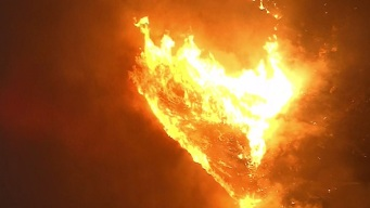 Evacuation Orders Lifted for Brush Fire in San Jacinto