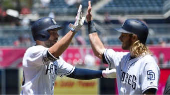 Jankowski and Hosmer Set Table For Padres Victory
