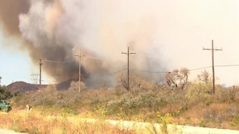 Fire Department's Warning Residents to Keep Their Properties Clear of Brush
