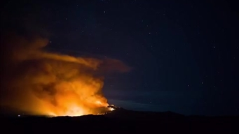 Loma Fire Timelapse