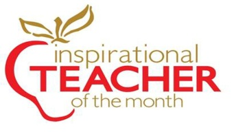 Inspirational Teacher of the Month