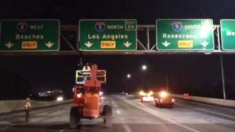 New Lanes Open on Interstate 8 near I-5