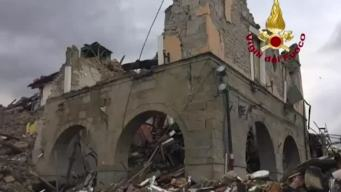 Historic Buildings Crumble in Italian Earthquake