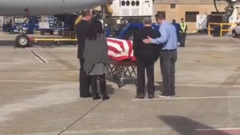 65 Years After Death, Veteran's Body Comes Home<br />