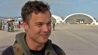 Navy Crewman Describes First Rescue at Sea