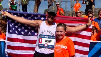 Olympic Racewalker Runs Sweet Business With Daughter