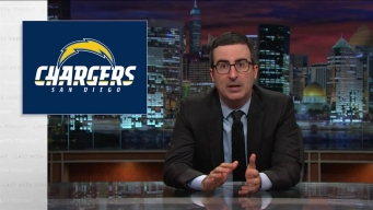 John Oliver Takes on the Chargers Stadium Situation