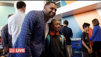 Pablo Sandoval Hits it Out of the Park for the Boys & Girls