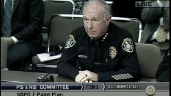Council Questions SDPD Chief on Cop Misconduct