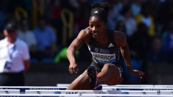 With Family Cheering, Hurdler Keni Harrison Eyes Olympics