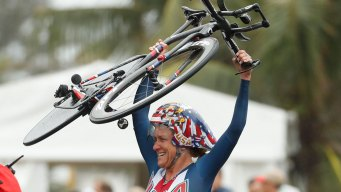 Olympic Cycling Champion Kristin Armstrong Is Golden Again