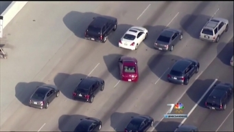 San Diego Chase Suspect Evades Police