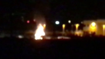 Video Captures Lakeside Car Fire