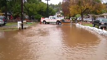 Flooding Hits Lakeside Neighborhood