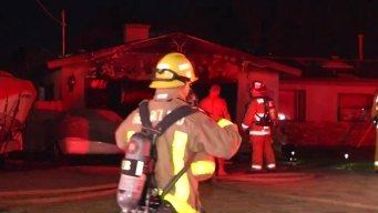 Fire Rips Through Lakeside Home's Garage