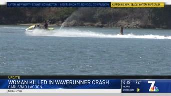 Woman Killed in WaveRunner Crash