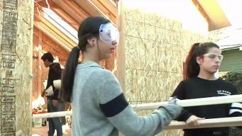 Local Students Build Temporary Housing for Homeless