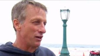 Locals Skate with Skateboarding Star Tony Hawk