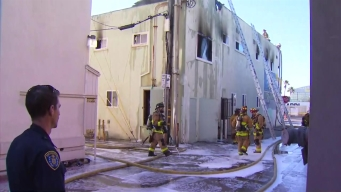 Man Injured in Mission Beach Fire Dies at Hospital