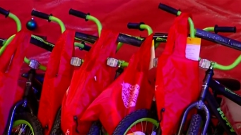 MTS Gives Bikes to 100+ Students in Logan Heights