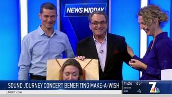 Sound Journey Concert to Benefit Make-a-Wish