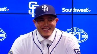 'I'm Finally a Padre': Manny Machado Joins San Diego
