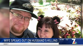 Wife of Poway Man Killed by Stray Bullet Speaks Out