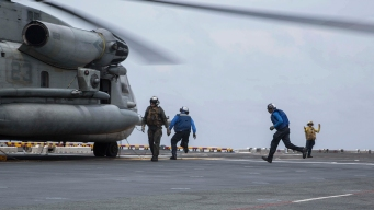 Search Concludes for US Marine Missing Near Philippines