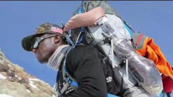 Disabled Marine Climbing Volcano to Help Others