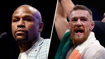 'The Fight Is On': McGregor to Meet Mayweather in Las Vegas