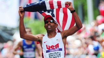 Meb Keflezighi Motivated by Pre-Race Slight
