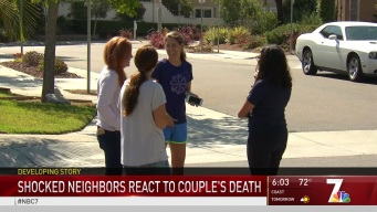 Neighbors React to Couple Found Dead in Torrey Highlands Home