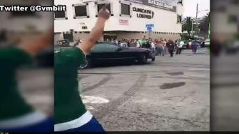 Dangerous World Cup Celebrations After Mexico Wins