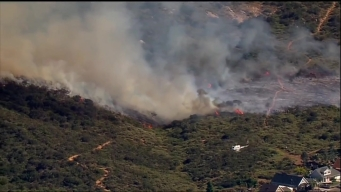 Mission Trails Park Brush Fire Burns 13 Acres