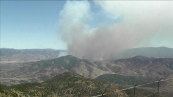 Time Lapse From Mt. Miguel on Gate Fire