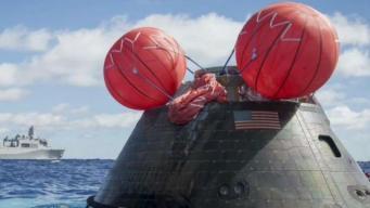 NASA Tests Orion Spacecraft in San Diego