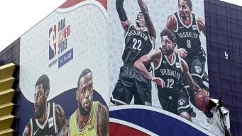 NBA Postpones Nets-Lakers Media Sessions in Shanghai