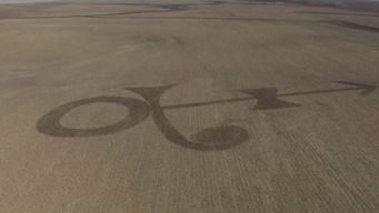 Farmer Mows Prince Symbol Into North Dakota Field