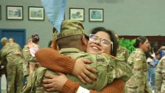 National Guard Brigade Returns Just In Time for Thanksgiving