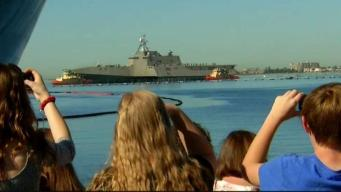Navy Ships Return From Deployment