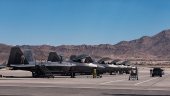 US Air Force: 2 Planes Crash in Nevada, Pilots Eject