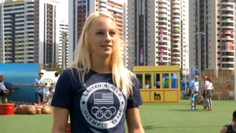 Steven Luke Reports from Rio: Nicole Ahsinger