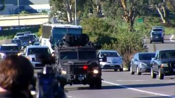 No Shots, Injuries in NMCSD Lockdown: Navy