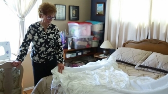 Your Corner: Seamstress Uses Wedding Dresses to Make Angel Gowns